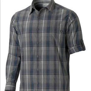 Marmot GT Yarmuth Long Sleeve Shirt Plaid Large